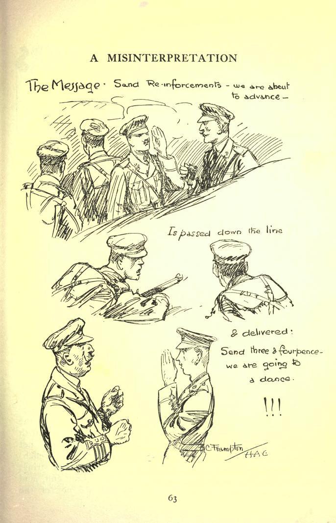 hecho en las trincheras ilustración