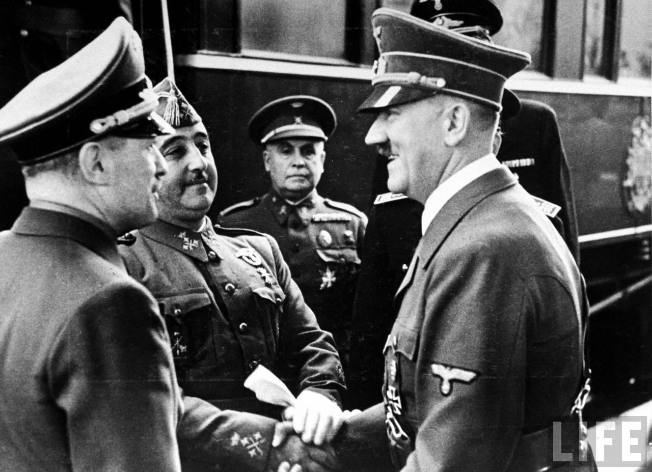 Franco creyó que las buenas relaciones con Hitler le permitirían soñar con viejos imperialismos