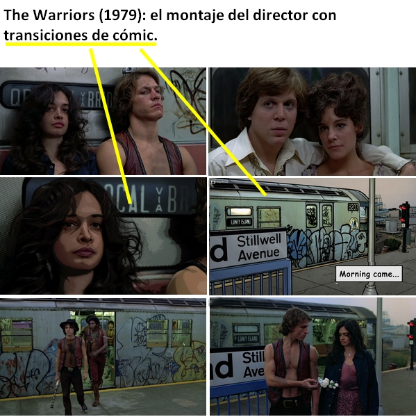 The Warriors, el montaje del director