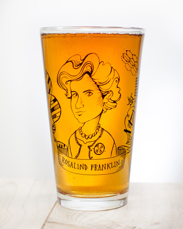 Pint-Glass_Rosalind-Franklin