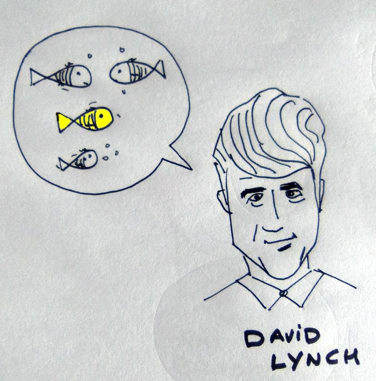 David Lynch y el pez dorado