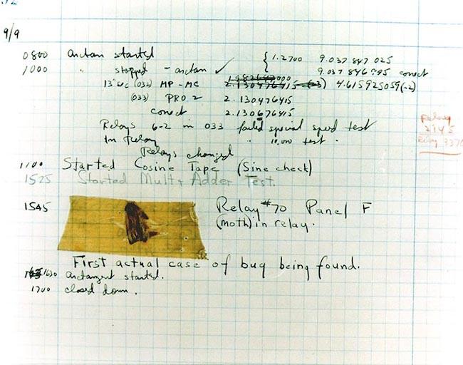 Bug encontrado en la Mark II.