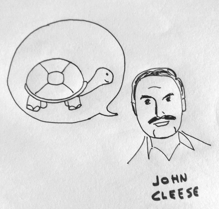 John Cleese y la tortuga