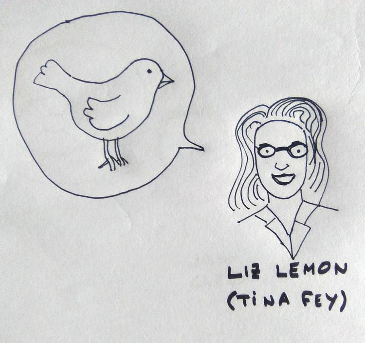 Liz Lemon y el pájaro