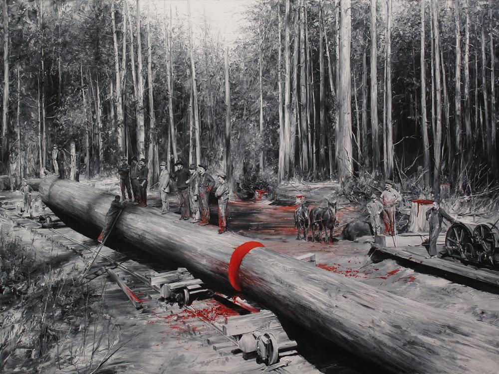 Rojo-(Óleo-lienzo.-120-x-160-cms.-2014)