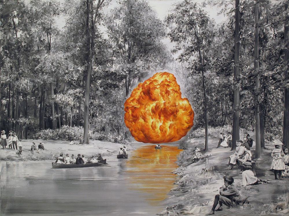 Sunday-(Oil-on-canvas.-120-x-160-cm.-2012)