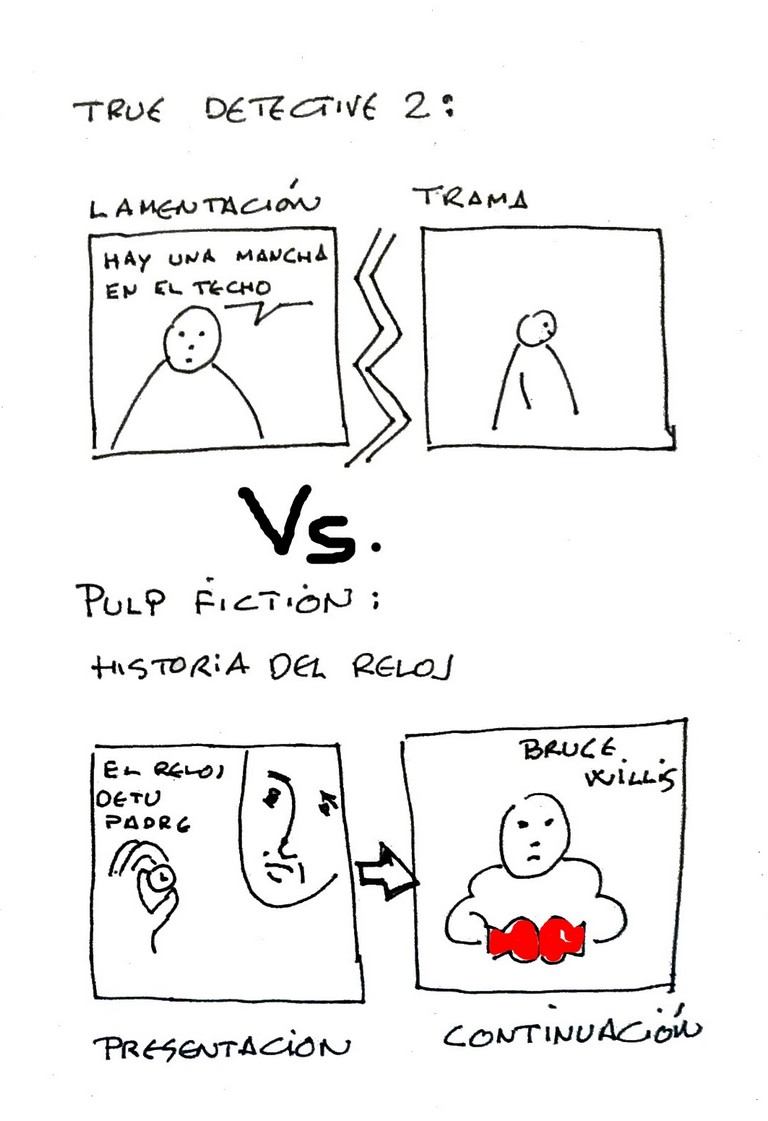 Tarantino VS True Detective