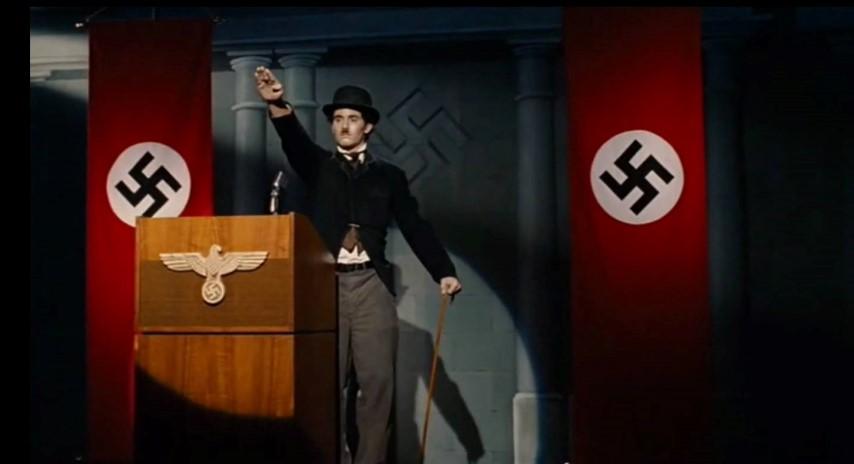 Chaplin Hitler