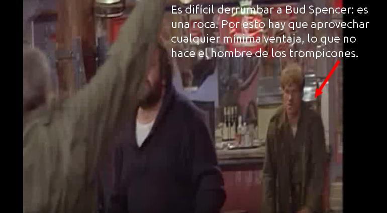 Bud Spencer haciendo lo que sabe