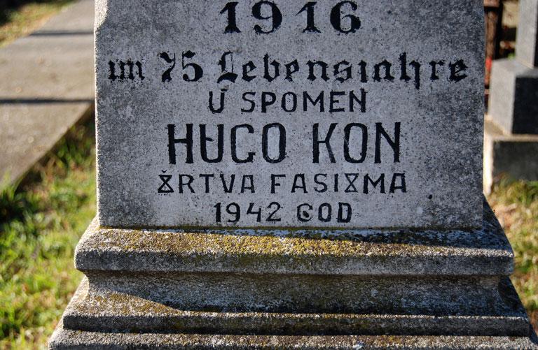 Hugo Kon, 'víctima del fascismo' en 1942