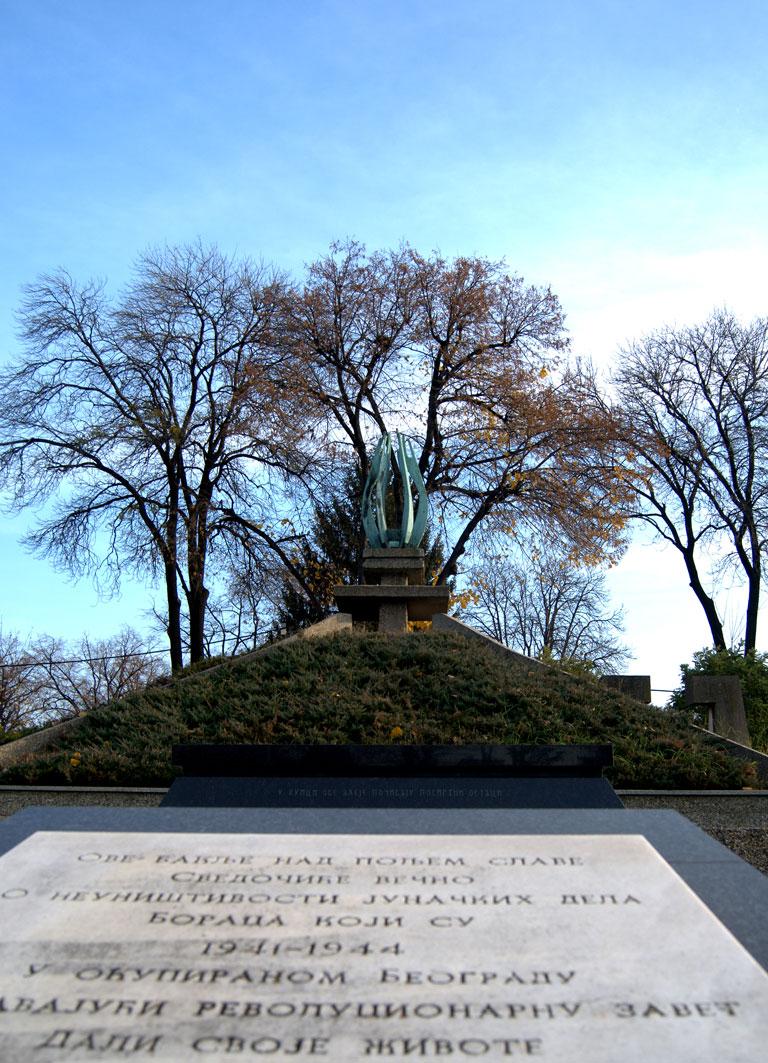 Muertos durante la ocupación nazi de Belgrado