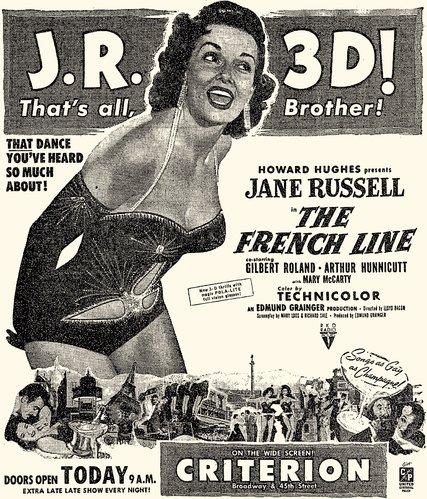 Jane Russell en 3D