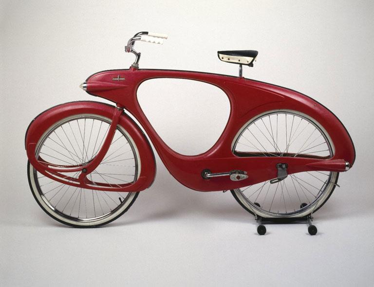 Benjamin G. Bowdens Spacelander Bicycle. Brooklyn Museum