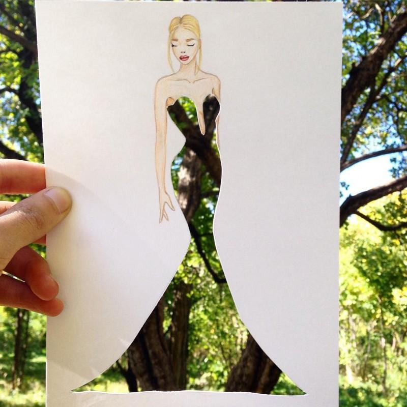 artista-lleva-diseño-de-modas-a-otro-nivel-el-resultado-es-impresionante-arbol