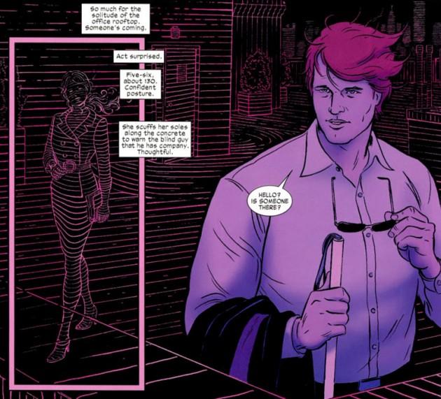 Cómo ve Daredevil