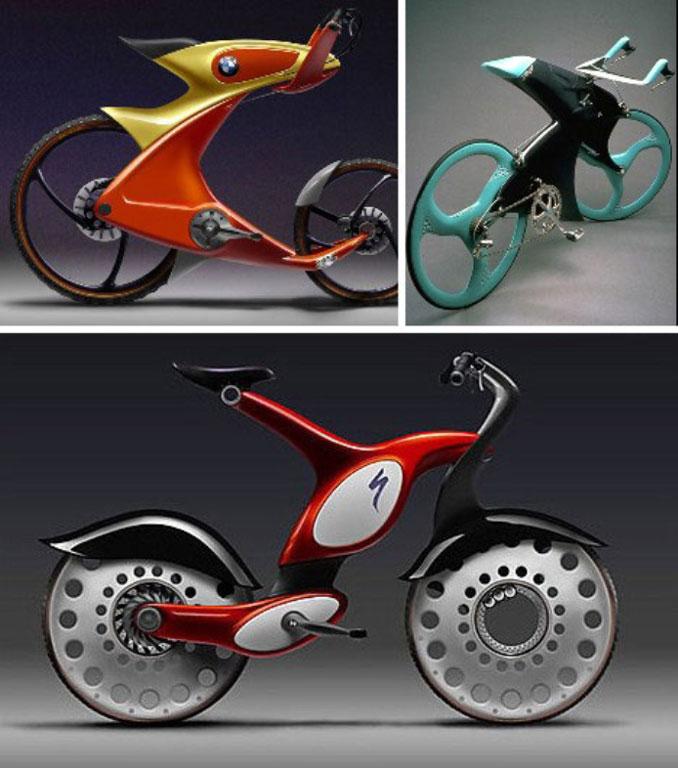 BMW concept bikes