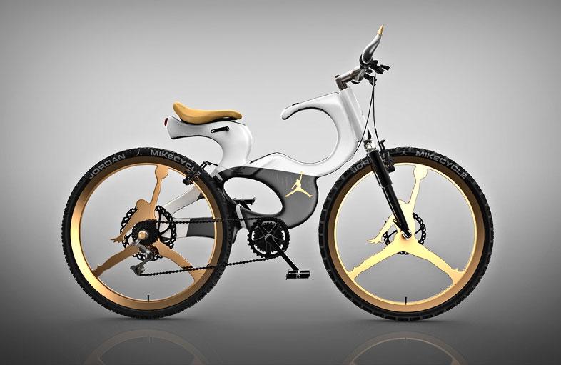 Bicicleta inspirada en Michael Jordan