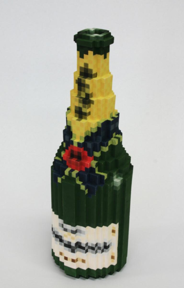 esculturas pixeladas 3