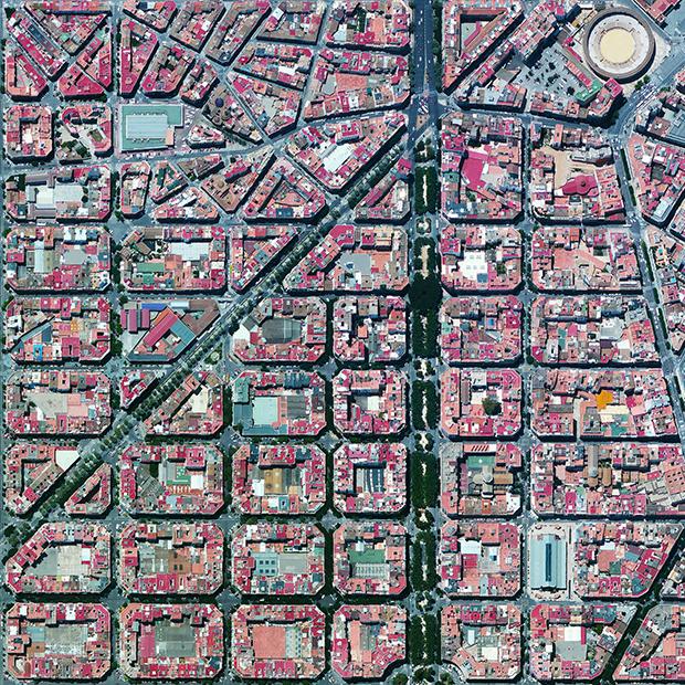 El Ensanche de Valencia.