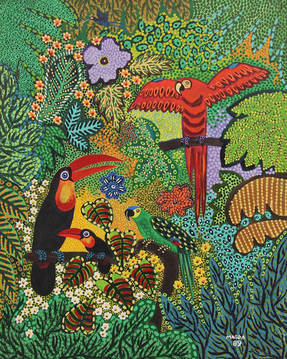 28 - tucanos araras