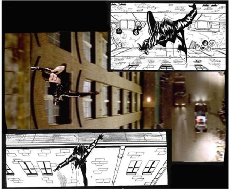 Storyboard de Matrix, 1999