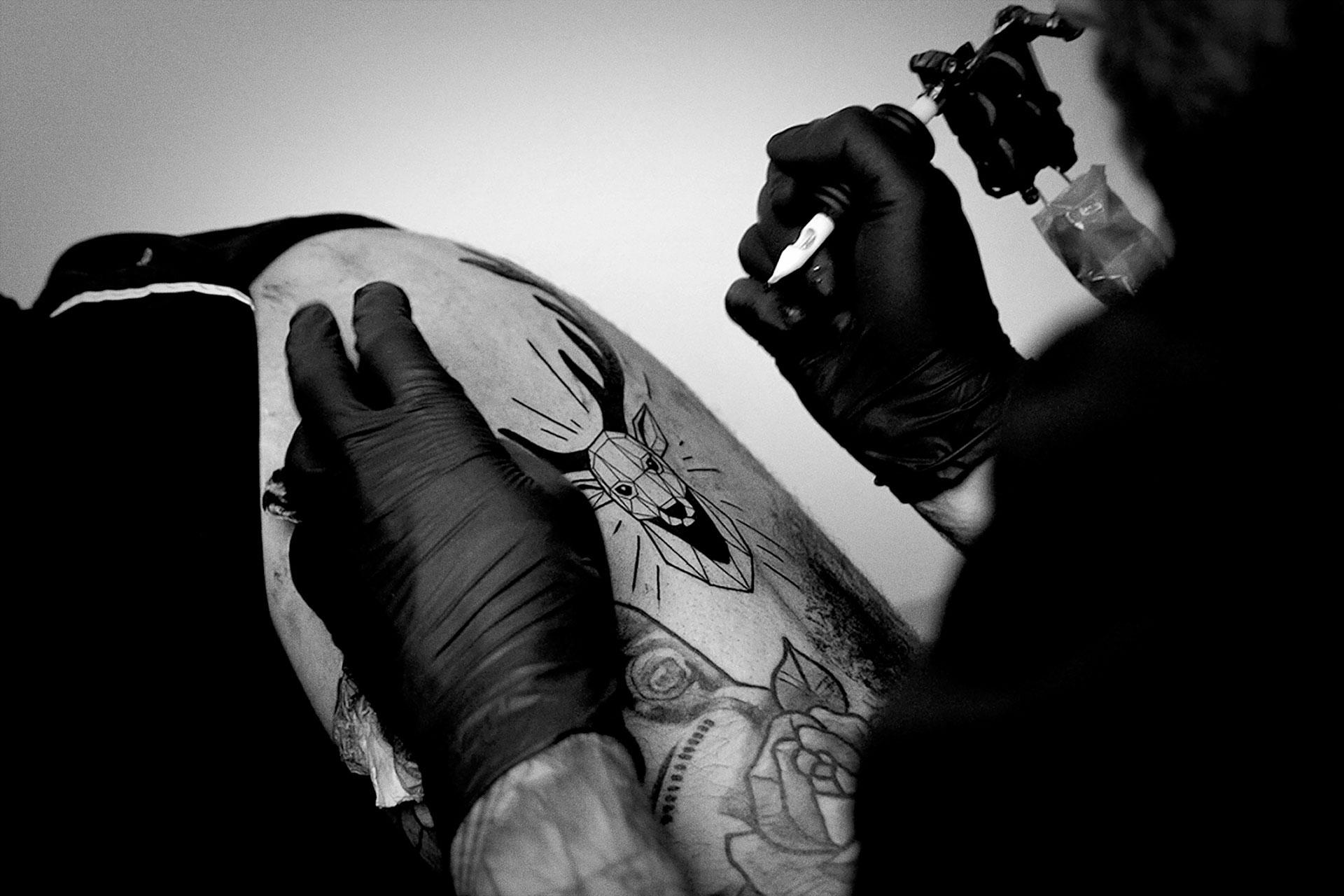 tatuajes jagermeister