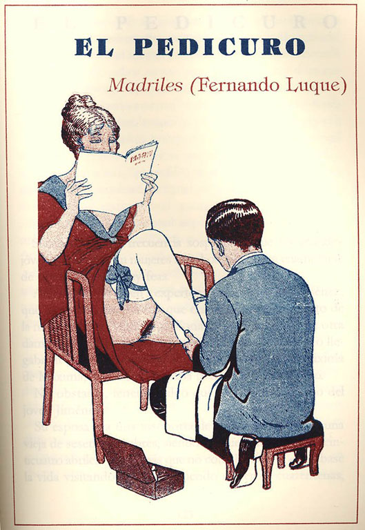Burla de la mujer lectora