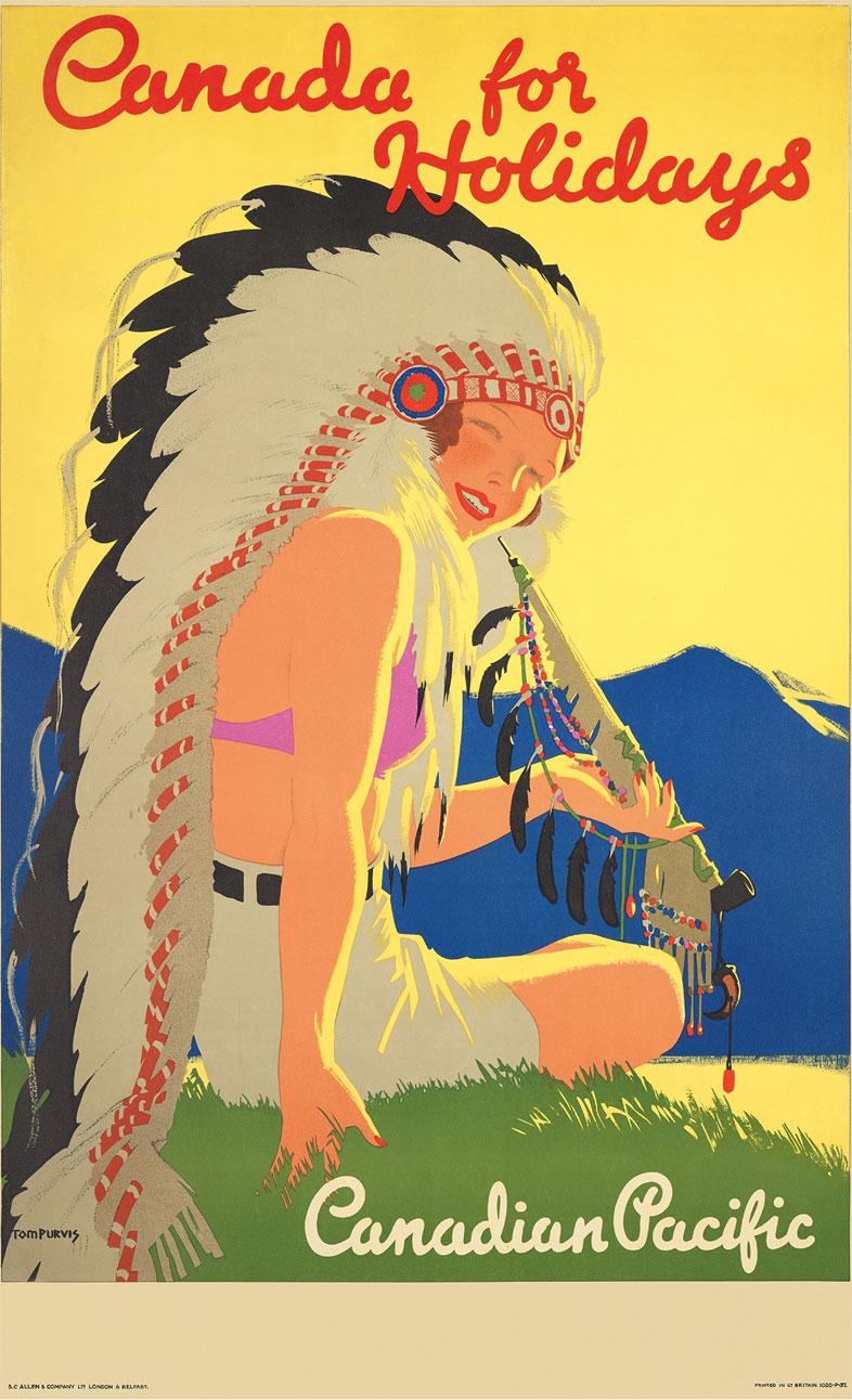 póster de Canadian Pacific