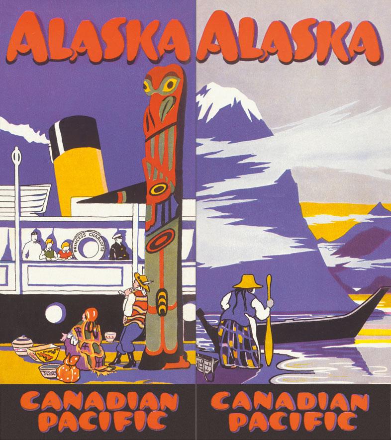 Cartel de Alaska y Canadian Pacific