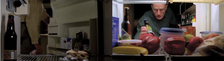 Breaking Bad - Frigorífico de Walter White