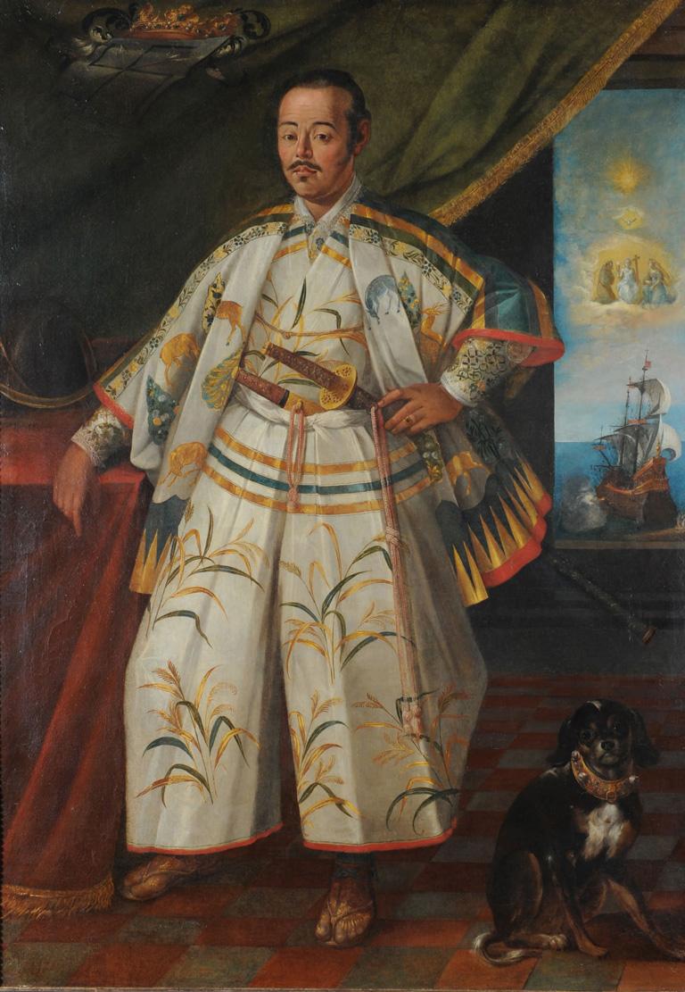 Hasekura Tsunenaga, samurai japonés, fue el primer embajador de Japón en Europa (1613-1620)