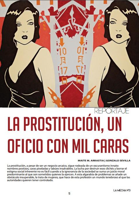 Revista La Mecha Prostitución
