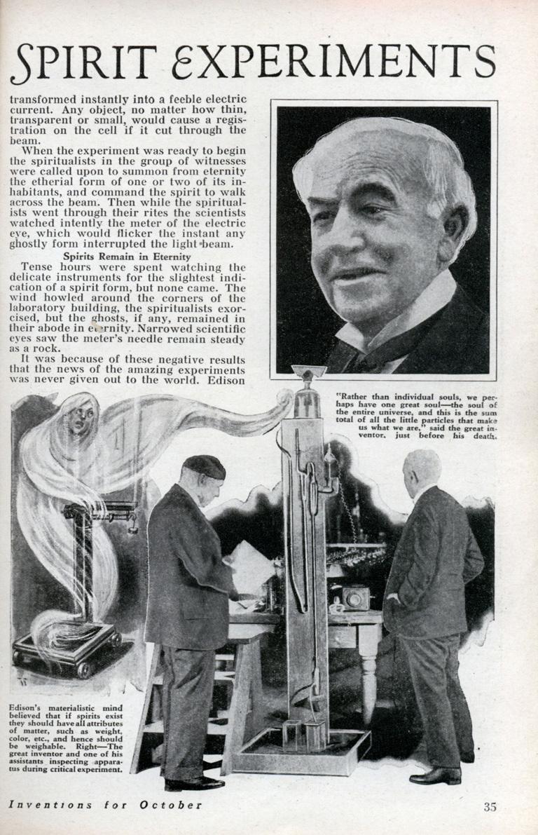 Modern Mechanism, octubre 1933