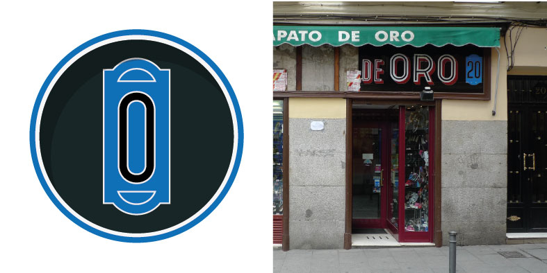 Los números que sobreviven en los letreros de Madrid