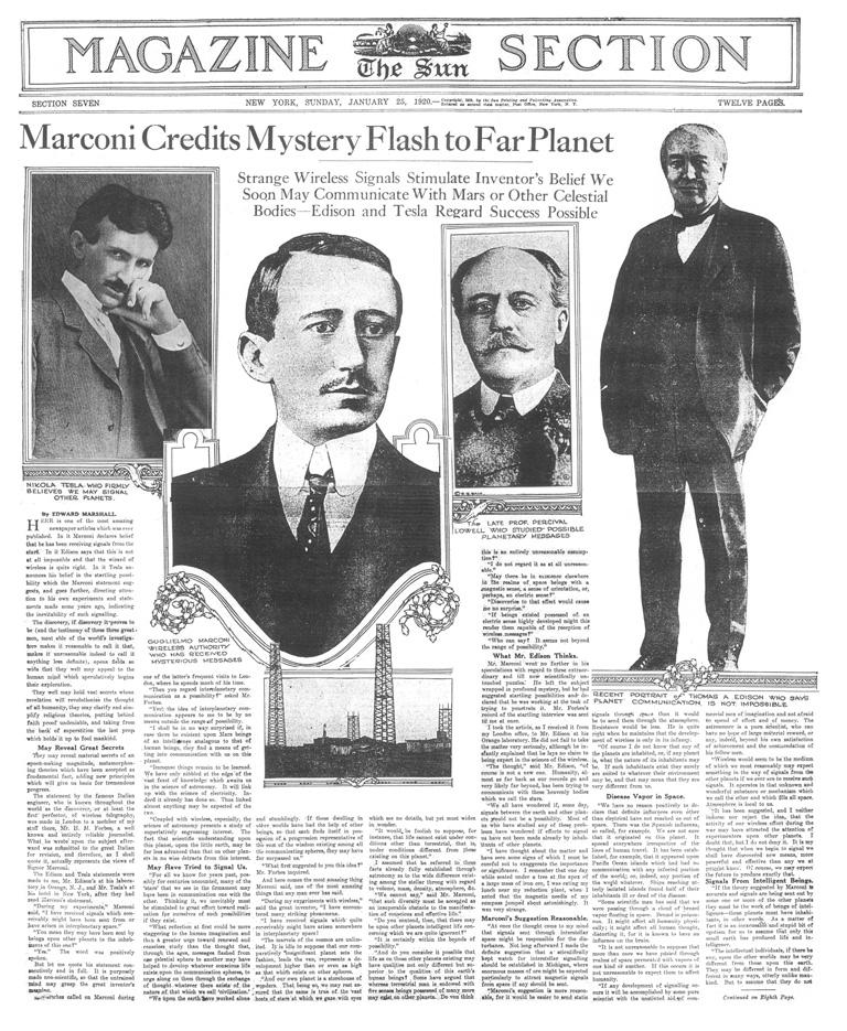 The New York Sun, 25-1-1920