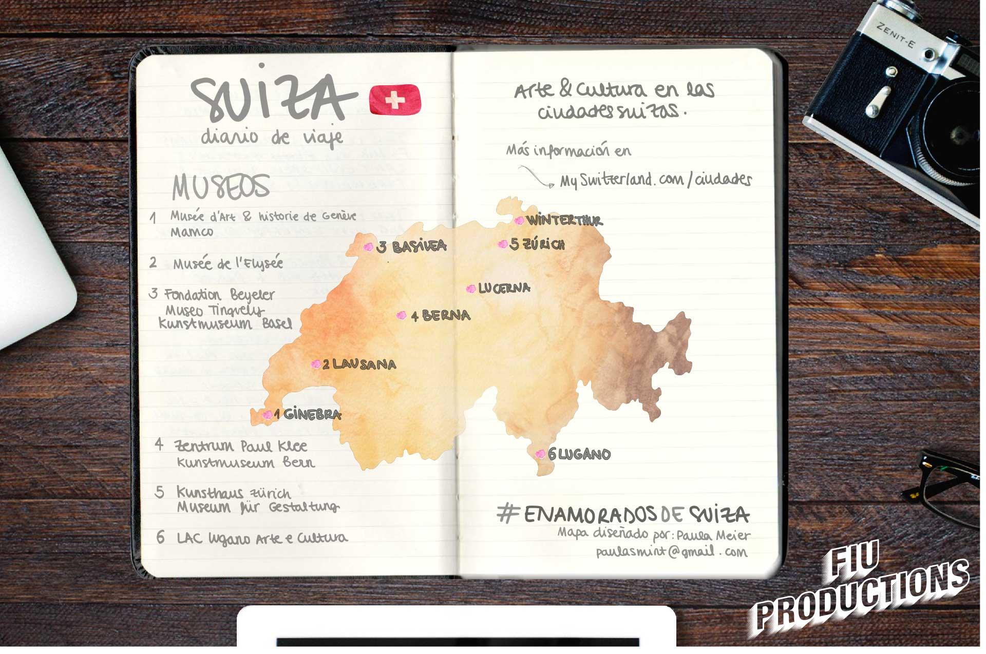 Paula Meier presentó este cuaderno de viaje artesanal para conectar con los viajeros más románticos.