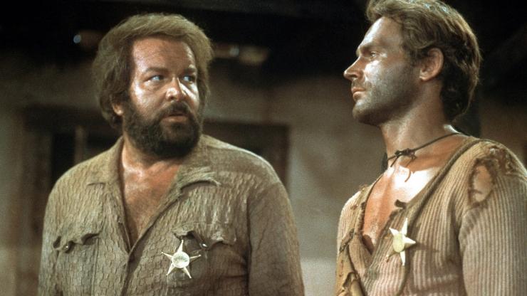 Bud Spencer y Terence Hill en 'Le llamaban Trinidad'.