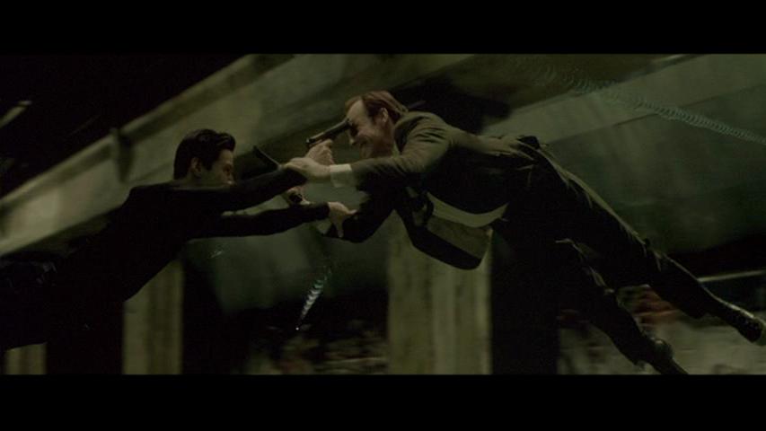 Matrix en el metro