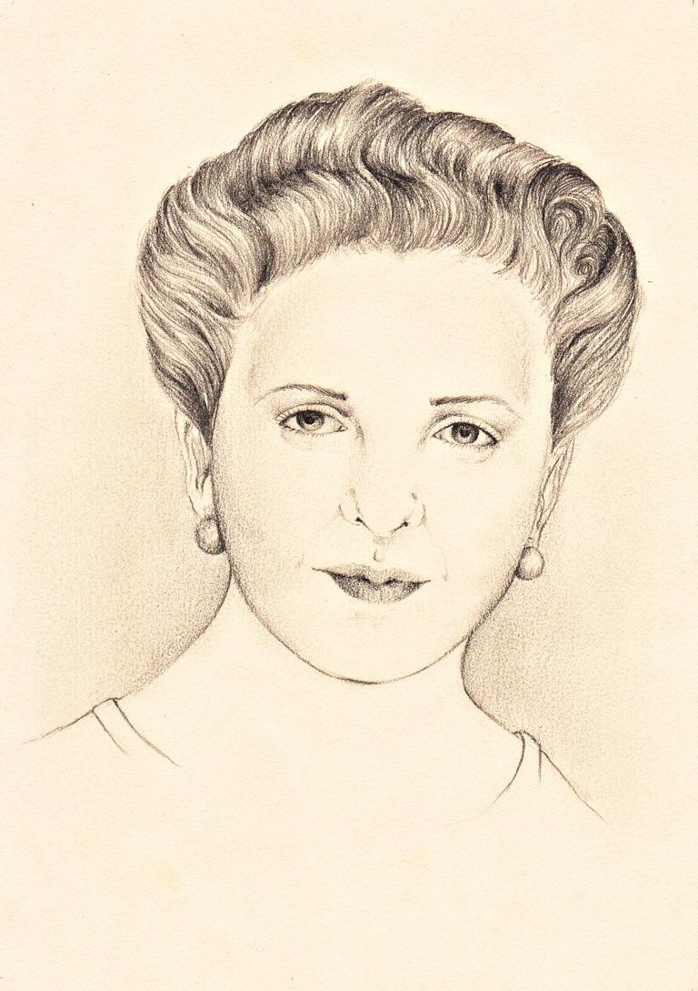 Elena Quiroga por Hakima El Kaddouri, bajo licencia CC WikiArts