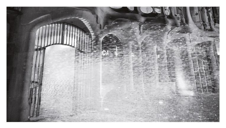 ¡Que la nieve caiga sobre Casa Batlló!
