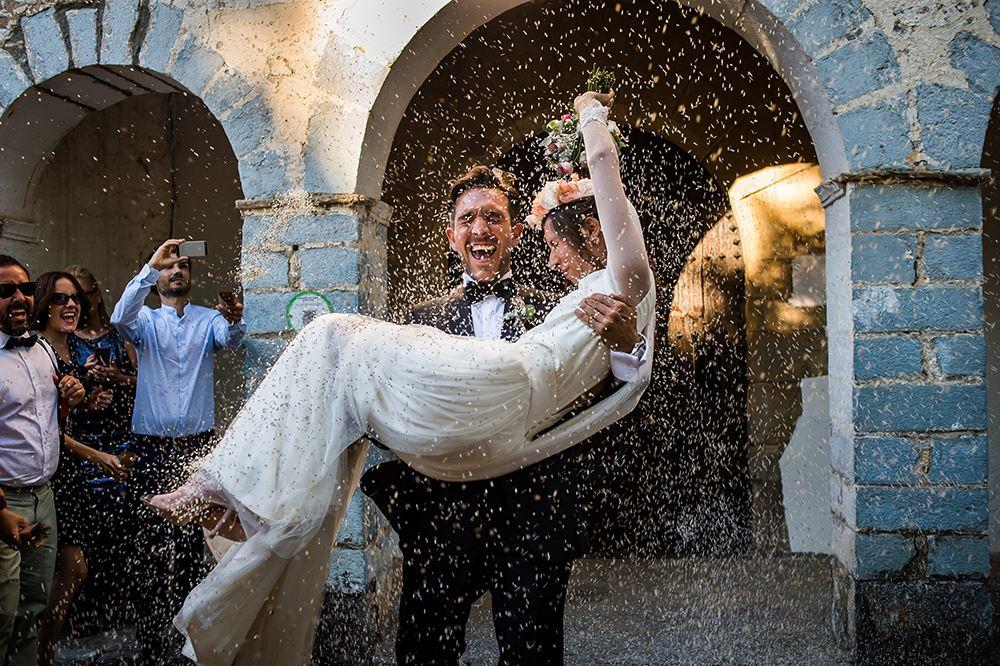 La boda de Víctor Lax y Erika Biarnes, según Daniel y Davina Kudish