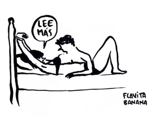 Flavita Banana, la ilustradora que se ríe de los príncipes azules