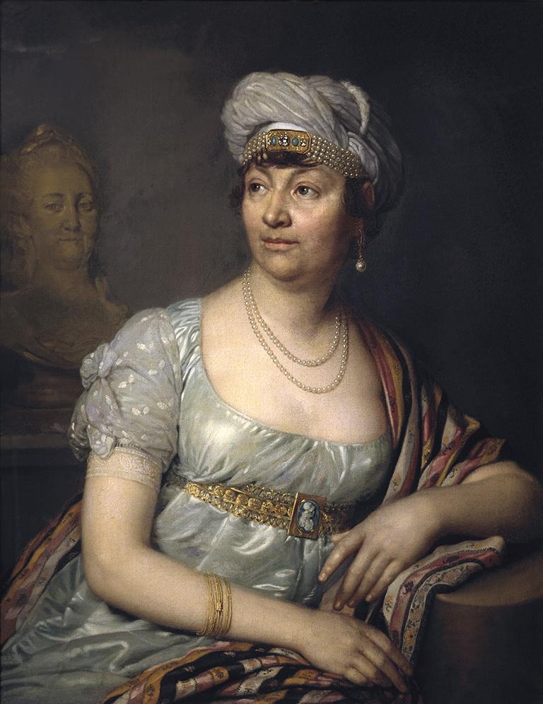 Madame de Stäel, Vladimir Borovikovsky