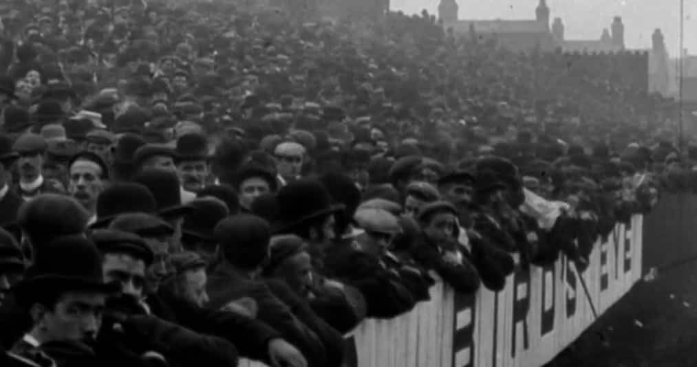 Anfield, 1901. Vía Shankly Hotel.