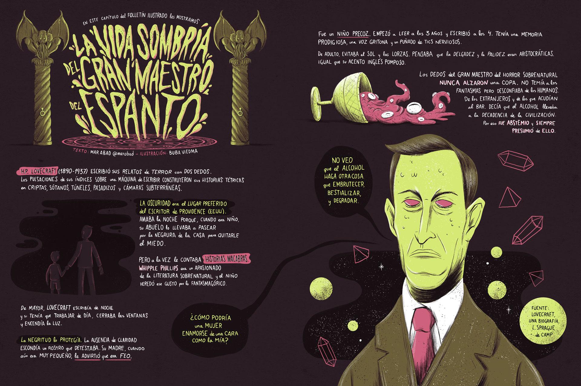 lovecraft folletín