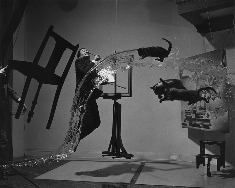'Dali Atomicus', por Philippe Halsman (1948)