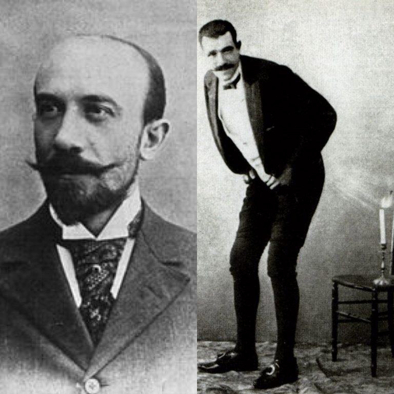 Georges Méliès y Joseph Pujol (Wikimedia Commons)