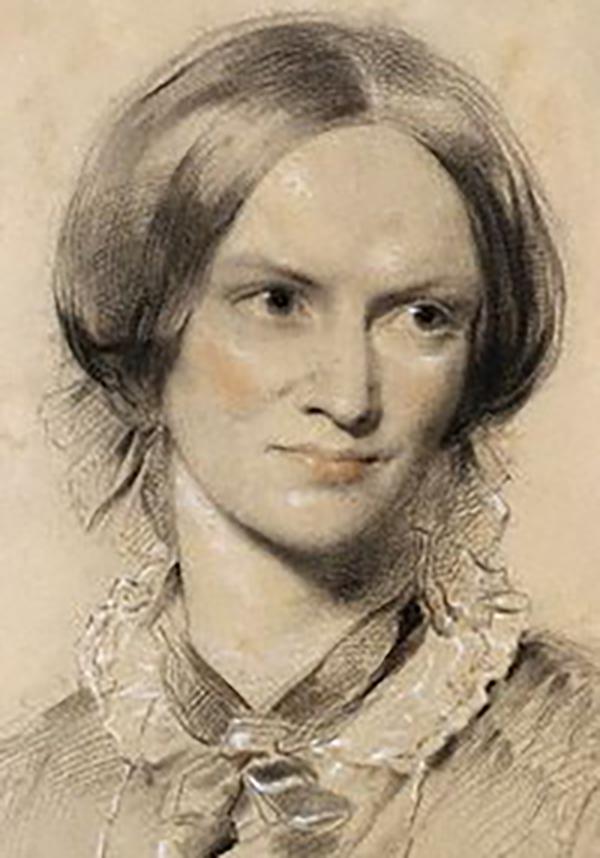 Único retrato conservado de Charlotte Brontë (1850)
