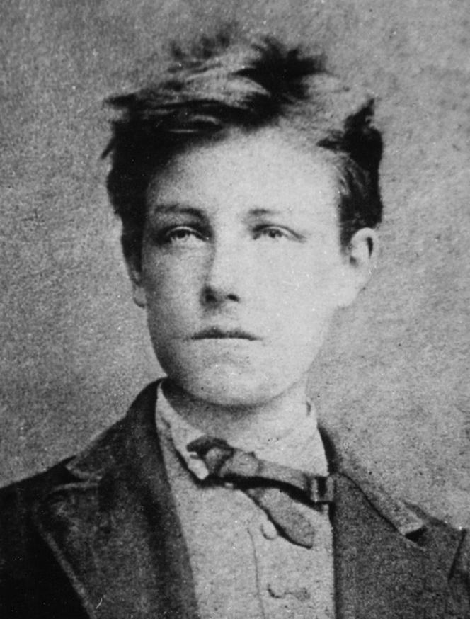 Retrato de Arthur Rimbaud a la edad de diecisiete años por Étienne Carjat, 1872