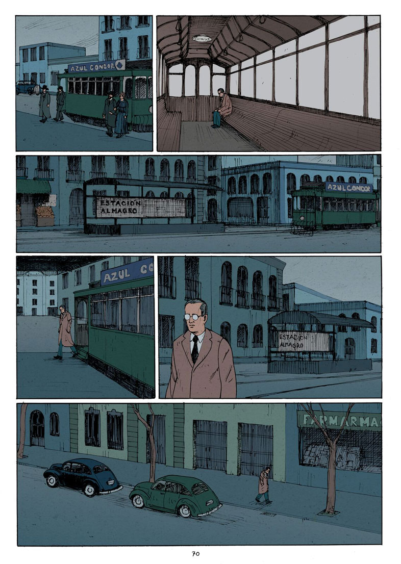 comic borges